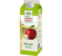 Werder Apfel Direktsaft Naturtrüb