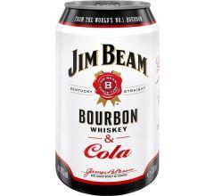 Jim Beam & Cola 10%