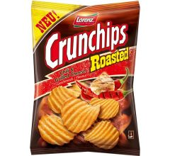 Lorenz Bahlsen Crunchips Roasted Chili Grilled Cheese