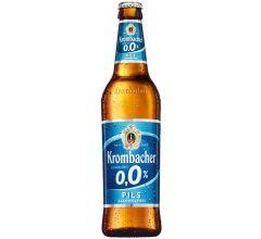 Krombacher Pils 0,0% Alkoholfrei (blau)