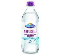Christinen Brunnen Mineralwasser Bio Naturelle Glas