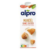 Alpro Mandel Drink ohne Zucker geröstet